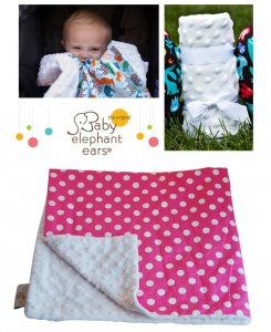 Baby Elephant Ears(ベビーエレファントイアーズ) ベビー&キッズブランケット/ピンクドット/リバーシブルタイプ/XLblanket<img class='new_mark_img2' src='https://img.shop-pro.jp/img/new/icons16.gif' style='border:none;display:inline;margin:0px;padding:0px;width:auto;' />