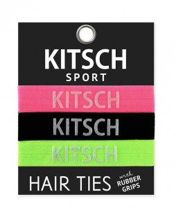 Kitsch(キッチュ)Sport ネオンカラーヘアアクセサリー3本セット/ヘアゴム/ブレスレット/Hair Ties<img class='new_mark_img2' src='//img.shop-pro.jp/img/new/icons16.gif' style='border:none;display:inline;margin:0px;padding:0px;width:auto;' />