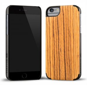 RECOVER (リカバー)ウッドiPhone6ケース/アイフォン6カバー(ゼブラウッド)<img class='new_mark_img2' src='https://img.shop-pro.jp/img/new/icons16.gif' style='border:none;display:inline;margin:0px;padding:0px;width:auto;' />