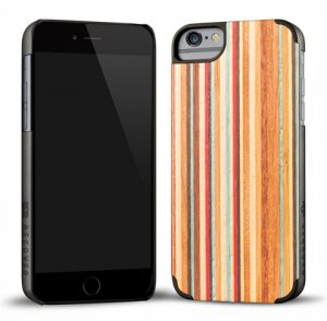 RECOVER (リカバー)ウッドiPhone6plusケース/アイフォン6プラスカバー(スケートボード)<img class='new_mark_img2' src='https://img.shop-pro.jp/img/new/icons16.gif' style='border:none;display:inline;margin:0px;padding:0px;width:auto;' />
