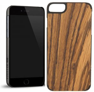 RECOVER (リカバー)ウッドiPhone6plusケース/アイフォン6プラスカバー(ゼブラウッド)<img class='new_mark_img2' src='https://img.shop-pro.jp/img/new/icons16.gif' style='border:none;display:inline;margin:0px;padding:0px;width:auto;' />