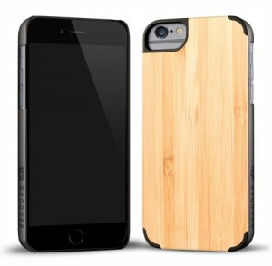 RECOVER (リカバー)ウッドiPhone6plusケース/アイフォン6プラスカバー(バンブー)<img class='new_mark_img2' src='https://img.shop-pro.jp/img/new/icons16.gif' style='border:none;display:inline;margin:0px;padding:0px;width:auto;' />