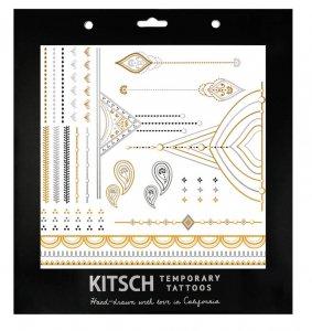 フラッシュタトゥー/Kitsch(キッチュ)タトゥーシール/テンポラリータトゥー/メタリック/Henna Metallic Tattoos Set 1<img class='new_mark_img2' src='https://img.shop-pro.jp/img/new/icons16.gif' style='border:none;display:inline;margin:0px;padding:0px;width:auto;' />