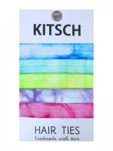 Kitsch(キッチュ)Neon Tie Dye ネオンタイダイヘアアクセサリー5本セット/ヘアゴム/ブレスレット/Hair Ties<img class='new_mark_img2' src='//img.shop-pro.jp/img/new/icons16.gif' style='border:none;display:inline;margin:0px;padding:0px;width:auto;' />