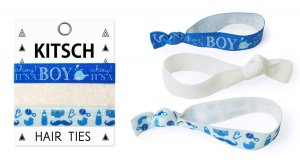Kitsch(キッチュ)It's a Boy Hair Ties ボーイズヘアアクセサリー3本セット/ヘアゴム/ブレスレット/Hair Ties<img class='new_mark_img2' src='//img.shop-pro.jp/img/new/icons16.gif' style='border:none;display:inline;margin:0px;padding:0px;width:auto;' />
