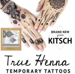 Kitsch(キッチュ)ヘナタトゥーシール/True Henna Tattoo Set/テンポラリータトゥー/フラッシュタトゥー<img class='new_mark_img2' src='//img.shop-pro.jp/img/new/icons16.gif' style='border:none;display:inline;margin:0px;padding:0px;width:auto;' />