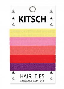 Kitsch(キッチュ)Passion Fruit トロピカルカラーヘアアクセサリー5本セット/ヘアゴム/ブレスレット/Hair Ties<img class='new_mark_img2' src='//img.shop-pro.jp/img/new/icons16.gif' style='border:none;display:inline;margin:0px;padding:0px;width:auto;' />