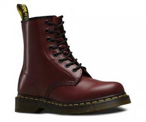 ドクターマーチン(Dr.Martens)1460/8ホールブーツ/チェリーレッド/8HOLE HI 1460 Boot/レザーブーツ/UK6/25.0-25.5cm
