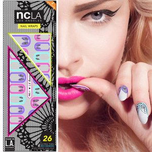 NCLA(エヌシーエルエー)L.A. BUNNIES/ネイルシール/バニーガール/ネイルラップ/NAIL WRAPS/26本分<img class='new_mark_img2' src='https://img.shop-pro.jp/img/new/icons16.gif' style='border:none;display:inline;margin:0px;padding:0px;width:auto;' />