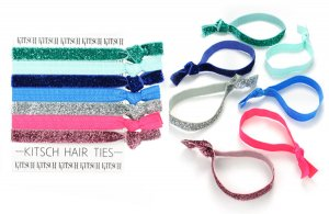 Kitsch(キッチュ)Thin Mints ラメパステルヘアアクセサリー7本セット/ヘアゴム/ブレスレット/Hair Ties<img class='new_mark_img2' src='https://img.shop-pro.jp/img/new/icons16.gif' style='border:none;display:inline;margin:0px;padding:0px;width:auto;' />