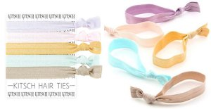 Kitsch(キッチュ)Swan Lake スワンレイクヘアアクセサリー5本セット/ヘアゴム/ブレスレット/Hair Ties<img class='new_mark_img2' src='//img.shop-pro.jp/img/new/icons16.gif' style='border:none;display:inline;margin:0px;padding:0px;width:auto;' />