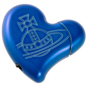 ヴィヴィアンウエストウッド(Vivienne Westwood)ハート型ライター(ブルー)