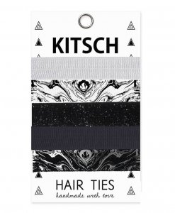 Kitsch(キッチュ)Marbleヘアゴム/ヘアアクセサリー5本セット/ブレスレット/Marble Hair Ties<img class='new_mark_img2' src='https://img.shop-pro.jp/img/new/icons16.gif' style='border:none;display:inline;margin:0px;padding:0px;width:auto;' />