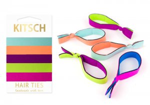 Kitsch(キッチュ)Neoprene ウエットスーツ素材ヘアアクセサリー5本セット/ヘアゴム/ブレスレット/Hair Ties<img class='new_mark_img2' src='//img.shop-pro.jp/img/new/icons16.gif' style='border:none;display:inline;margin:0px;padding:0px;width:auto;' />