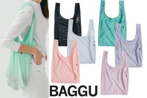 BAGGU(バグゥ)メッシュエコバッグ/MESH BAGGU/レジバッグ/バグー<img class='new_mark_img2' src='//img.shop-pro.jp/img/new/icons16.gif' style='border:none;display:inline;margin:0px;padding:0px;width:auto;' />