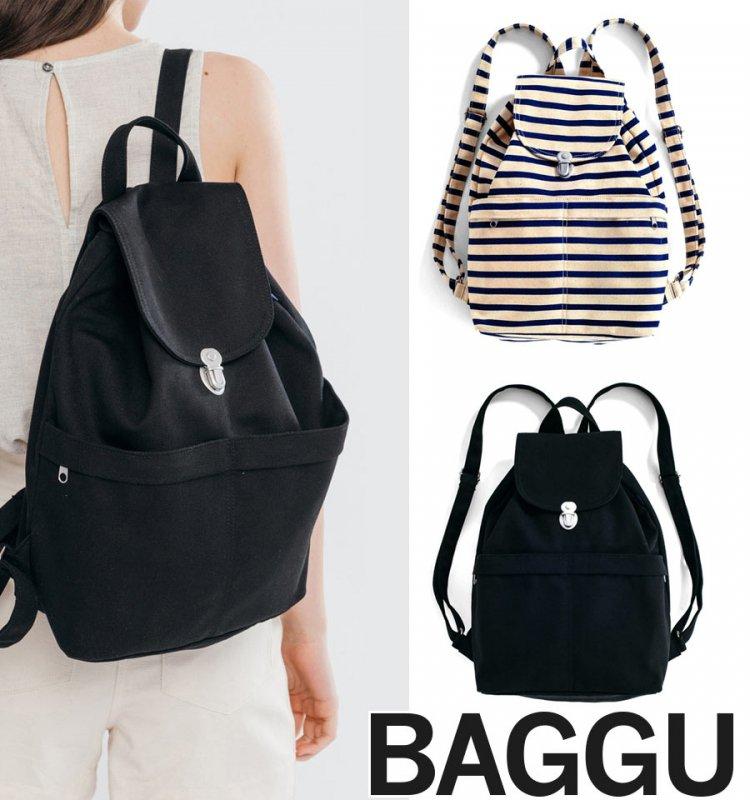 BAGGU(バグゥ)リュックサック/キャンバスバックパック/BACKPACK/バグー