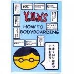 ボディボード HOW TO DVD イエローズ 初心者向がボディボードをDVDで乗り方教わるなら