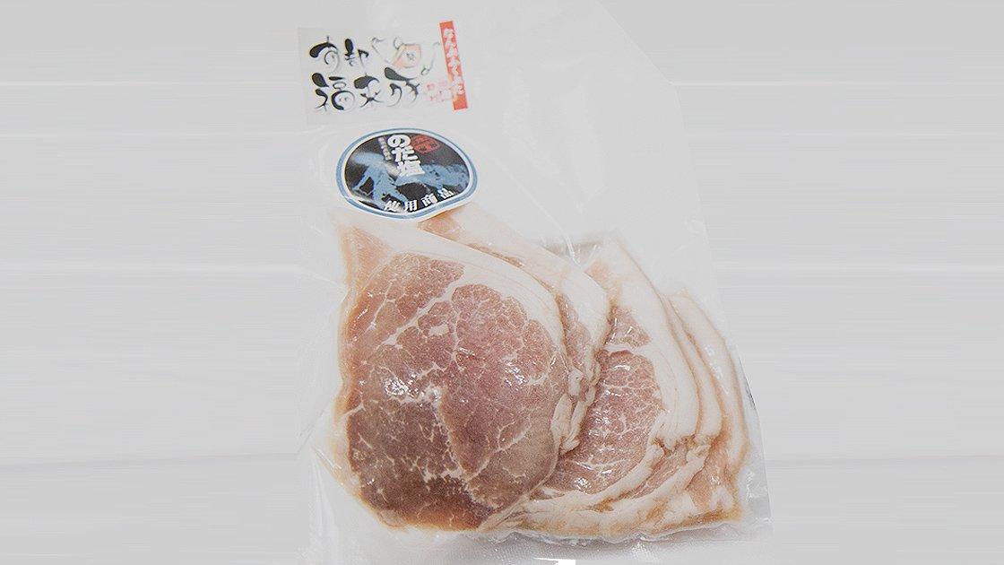 南部福来豚のだ塩煮の写真