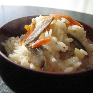 のだ塩入り「炊き込みご飯の素・塩味」セット(5袋)の写真