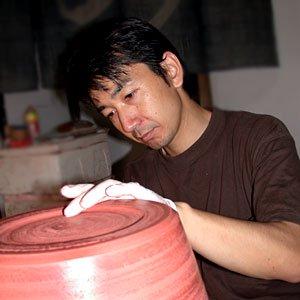 のだ焼き すり鉢(大)の写真