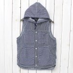 SASSAFRAS『TREE CHOPPER BUD VEST』(WHITE/INDIGO)