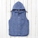 SASSAFRAS『TREE CHOPPER BUD VEST』(BLUE)