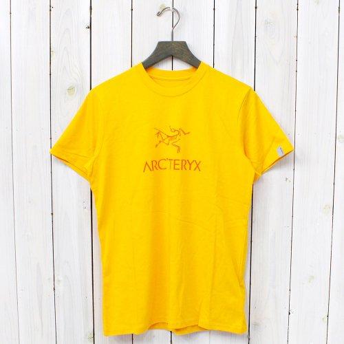 【SALE特価40%off】ARC'TERYX『Arc'word SS Crew』(Saffron)