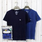 FRUIT OF THE LOOM×BLUE BLUE『INDIGO 2PCS VN SS T No.2』