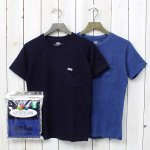 FRUIT OF THE LOOM×BLUE BLUE『INDIGO 2PCS CN SS T No.2』