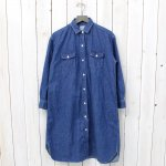 orSlow『LONG WORK SHIRTS』(DENIM)