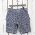 SASSAFRAS『TREE CHOPPER PANTS 1/2』(WHITE/INDIGO)