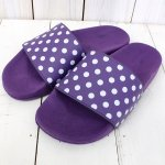 Needles『Polka Dot Slide Sandal』(Purple)