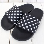 【会員様限定SALE】Needles『Polka Dot Slide Sandal』(Black)