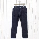 SASSAFRAS『FALL LEAF SPRAYER PANTS』(INDIGO)