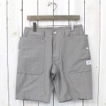 SASSAFRAS『FALL LEAF SPRAYER PANTS 1/2』(GRAY)