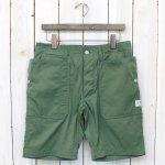 SASSAFRAS『FALL LEAF SPRAYER PANTS 1/2』(OLIVE)