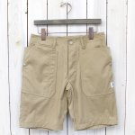 SASSAFRAS『FALL LEAF SPRAYER PANTS 1/2』(BEIGE)