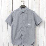SASSAFRAS『GREEN THUMB SHIRT 1/2』(LIGHT GRAY)