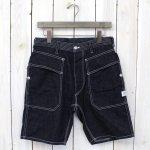 SASSAFRAS『DOUBLE PRUNER PANTS 1/2』(INDIGO)