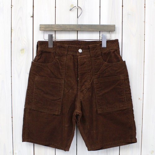 SASSAFRAS『WEEDS PANTS 1/2』(BROWN)