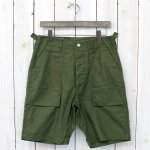 SASSAFRAS『FEEL SUN PANTS 1/2』(OLIVE)
