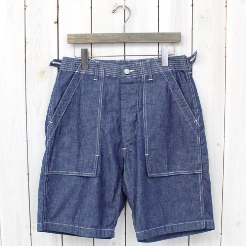 SASSAFRAS『FEEL SUN PANTS 1/2』(BLUE)