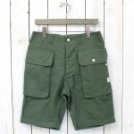 SASSAFRAS『WEEDS & GRASS PANTS 1/2』(OLIVE)
