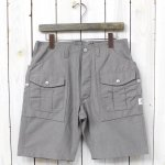 SASSAFRAS『BOTANICAL SCOUT PANTS 1/2』(GRAY)