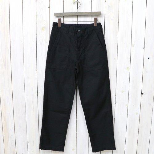 ENGINEERED GARMENTS『Fatigue Pant-Cotton Reversed Sateen』(Black)