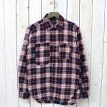 ENGINEERED GARMENTS『Work Shirt-Plaid Flannel』(Navy/White/Red)