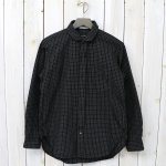 【会員様限定SALE】ENGINEERED GARMENTS『Rounded Collar Shirt-Graph Check』(Black)
