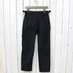 FWK by ENGINEERED GARMENTS『Fatigue Pant-Cotton Reversed Sateen』(Black)