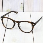 hobo『Wellington Frame Glasses by KANEKO OPTICAL』(BROWN/CLEAR)