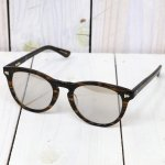 hobo『Wellington Frame Glasses by KANEKO OPTICAL』(BROWN/MIRROR)